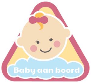Meisje – baby aan boord (t.w.v. €4,95 – GRATIS)