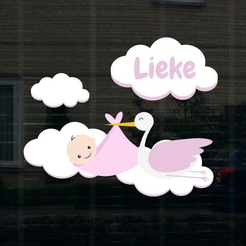 Geboortesticker meisje type Lieke